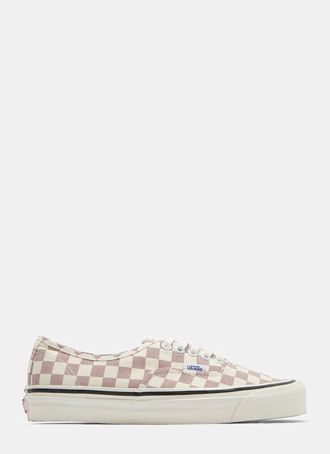 Vans Authentic 44DX Checked Anaheim Factory Sneakers