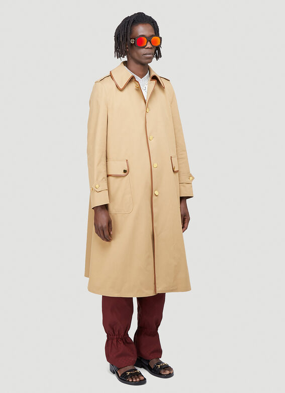 Gucci Oversized Trench Coat 2