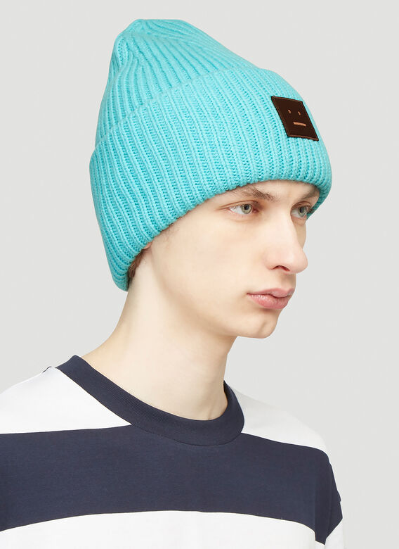 Acne Studios Pansy N Face Knit Hat 2