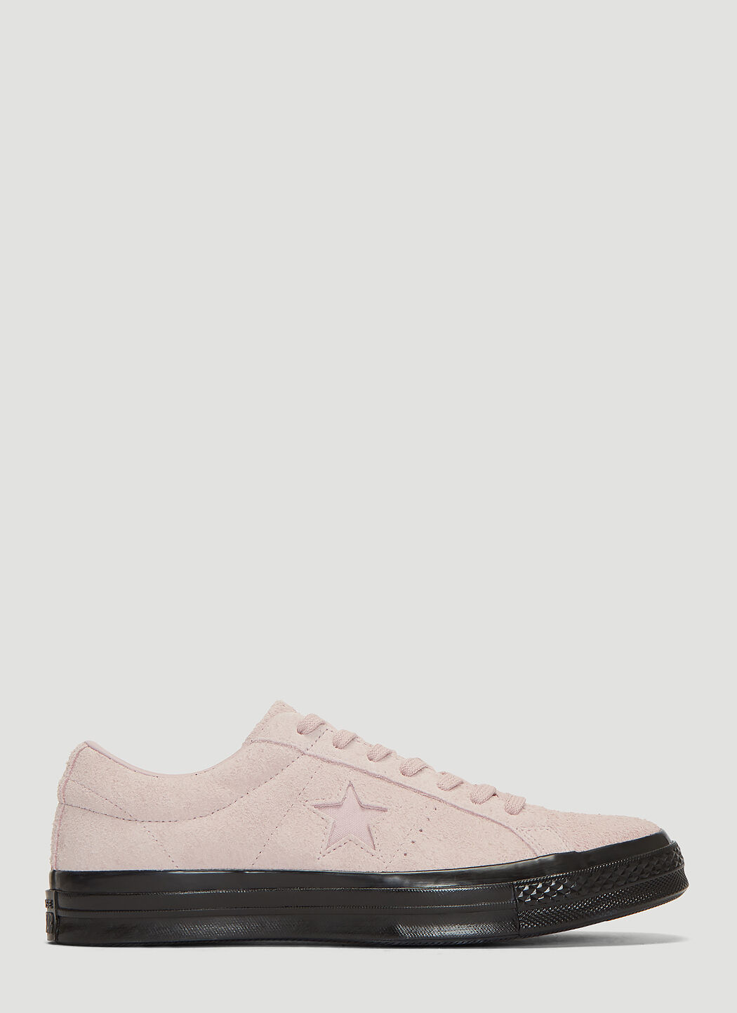 Converse One Star Suede Sneakers in Rose | LN CC