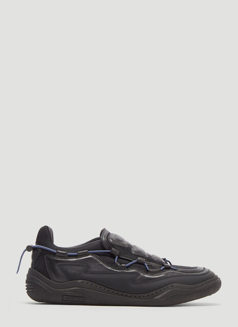 Lanvin Leather Bungee Diving Sneakers