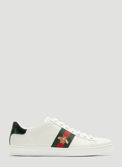 Gucci Ace Bee Embroidered Sneakers