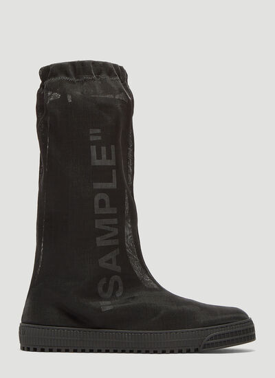 Off-White Neotulle 'Sample' Boots