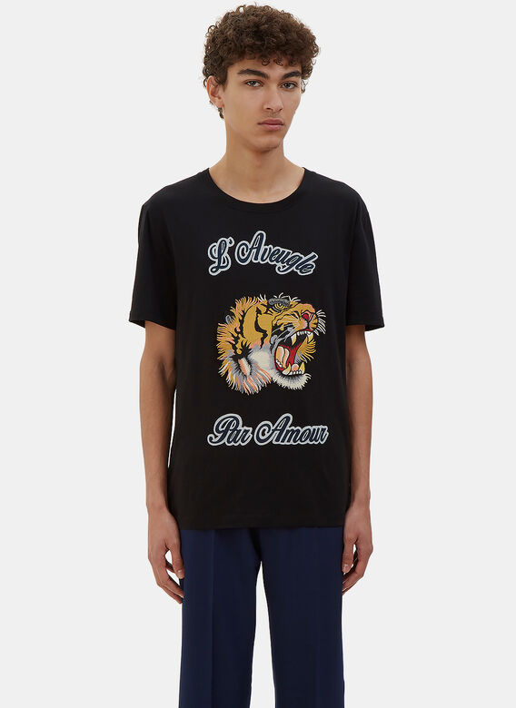 6b14fc1d Men's T-Shirts - Clothing | Order Now at LN-CC - Embroidered Tiger ...