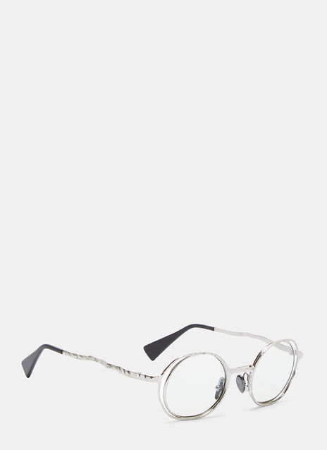 Mask H11 Stamped Metal Sunglasses