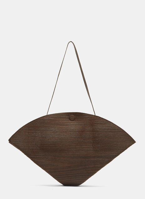 Wooden Conical Knapsack Bag