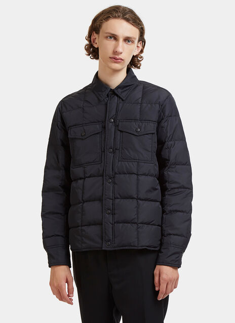 Down-Filled Coach Jacket