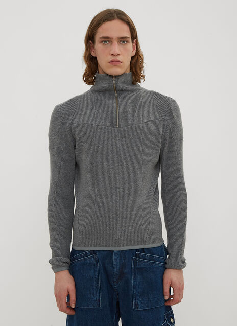 GmbH Moses Ribbed Knit Top