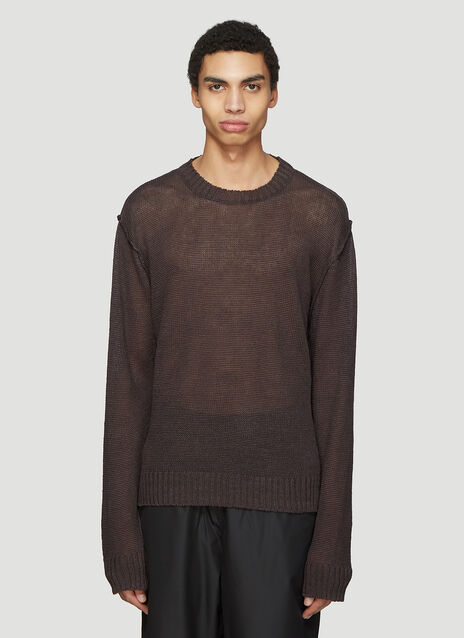 Our Legacy Acre Round Neck Sweater
