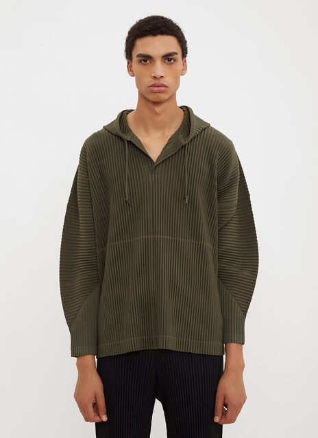 Homme Plissé Issey Miyake Hooded August Sweater