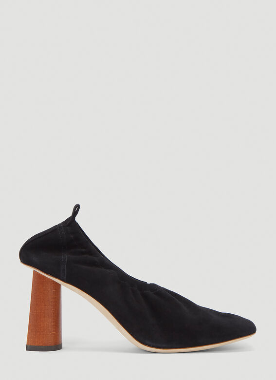 Rejina Pyo Edie Heeled Pumps in Black