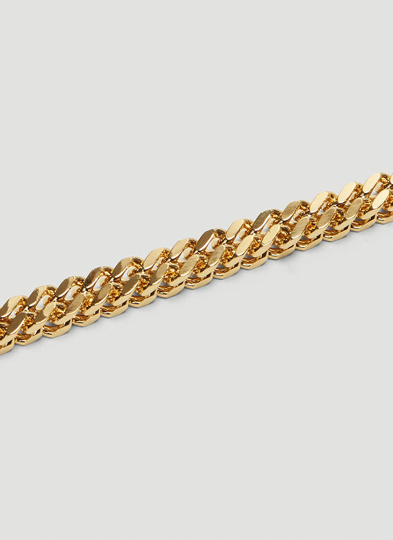 1017 ALYX 9SM CUBIX CHAIN NECKLACE W/ FIXED BUCKLE 4