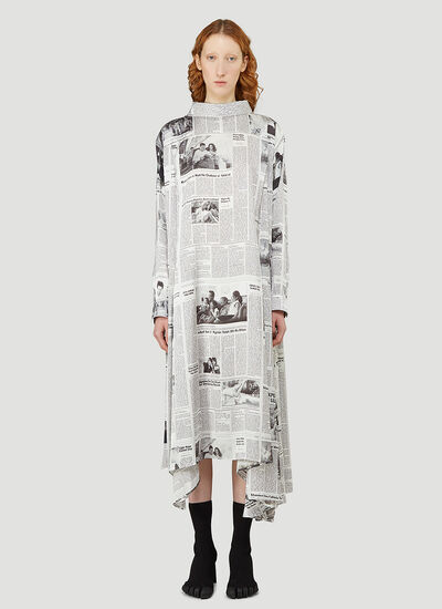 Balenciaga Newspaper Dress