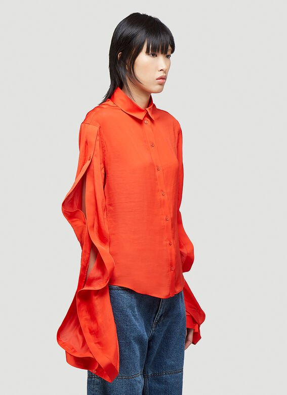 Y/Project RUFFLE SLEEVE SHIRT 7