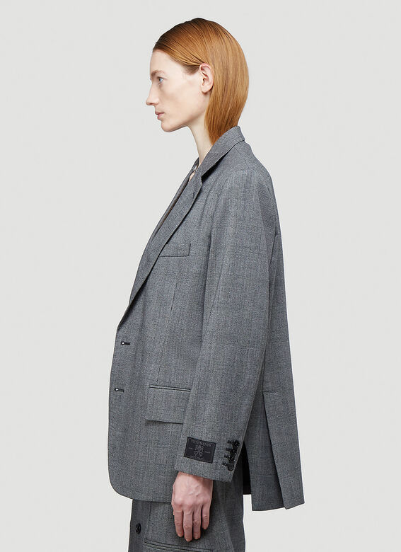 Vetements CUT-OUT TAILORED JACKET 3