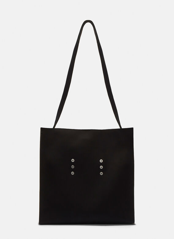 Bonded Cotton 0002 Tote Bag In Black by Mackintosh 002