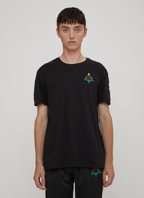 Marcelo Burlon X Kappa Multi-Coloured Kappa Logo T-Shirt