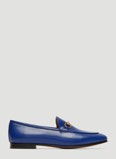 Gucci Jordaan Leather Moccasin Loafer