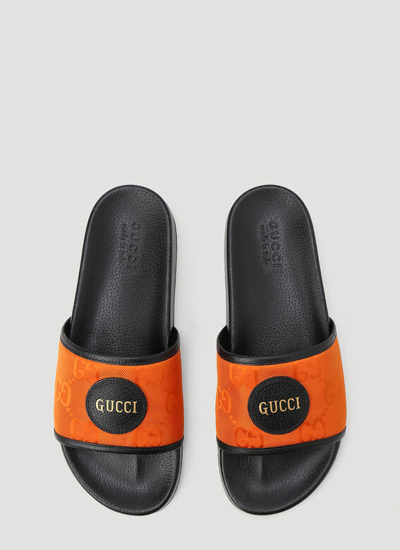 Gucci Eco-Nylon Slides 2