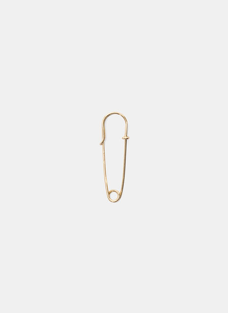 0.88 by Philippe Airaud Safety Pin Earring