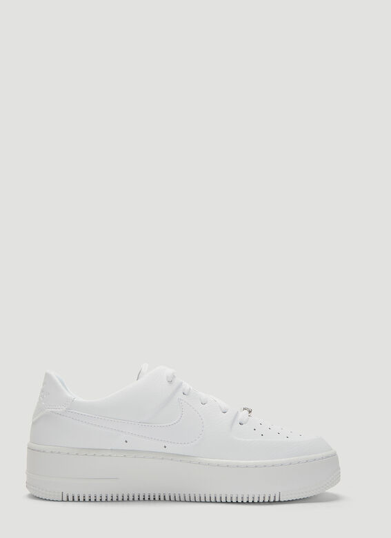 huge selection of 21746 0f530 Nike Air Force 1 Sage Low Sneakers in White | LN-CC
