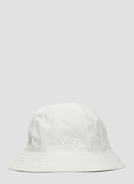 Y-3 Embroidered Logo Bucket Hat