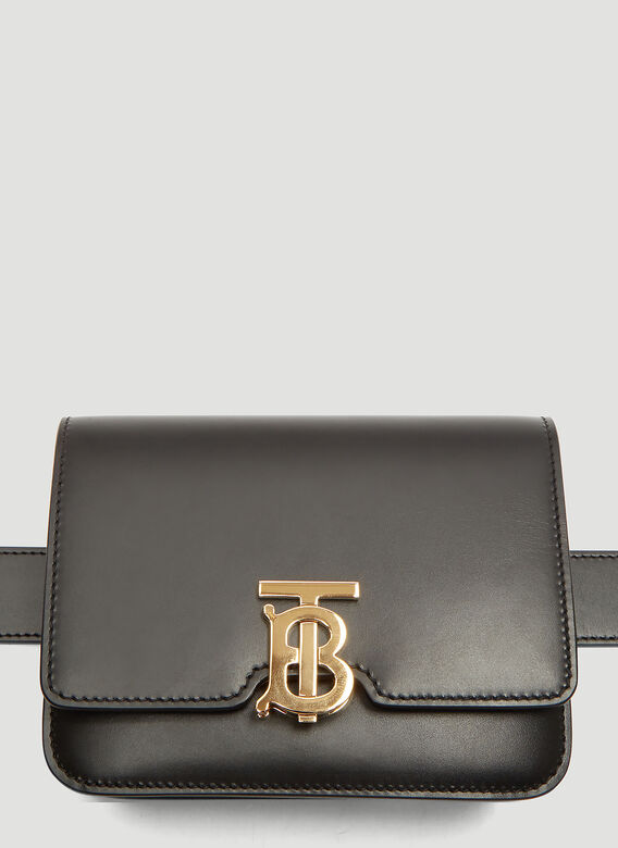 114a87d4b45b Burberry Belted TB Bag in Black