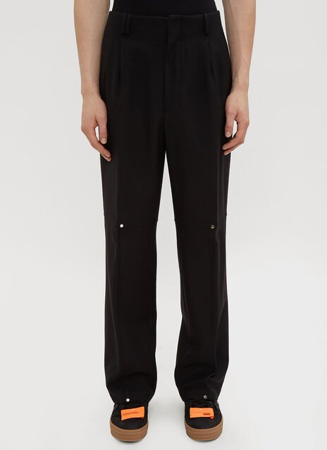 Off-White Double Pleated Pants
