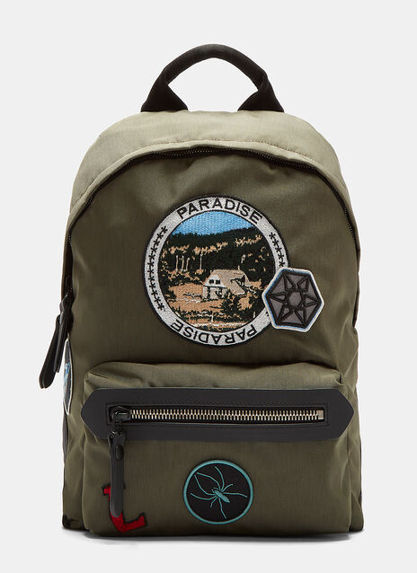 Camping Patch Technical Canvas Backpack