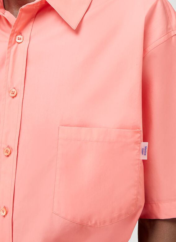 Martine Rose DUEL S/S SHIRT 100%CO 5