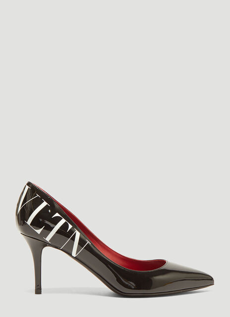 Valentino VLTN Patent Stiletto Pumps