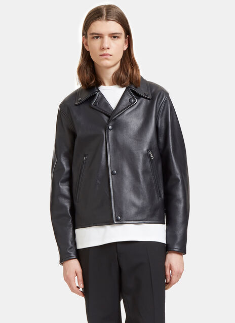 Awe Leather Biker Jacket