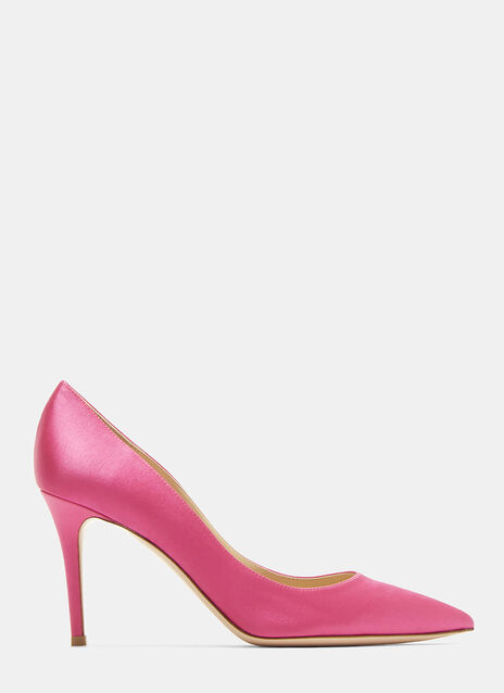 Gianvito Rossi Gianvito 85 Satin Stiletto Pumps