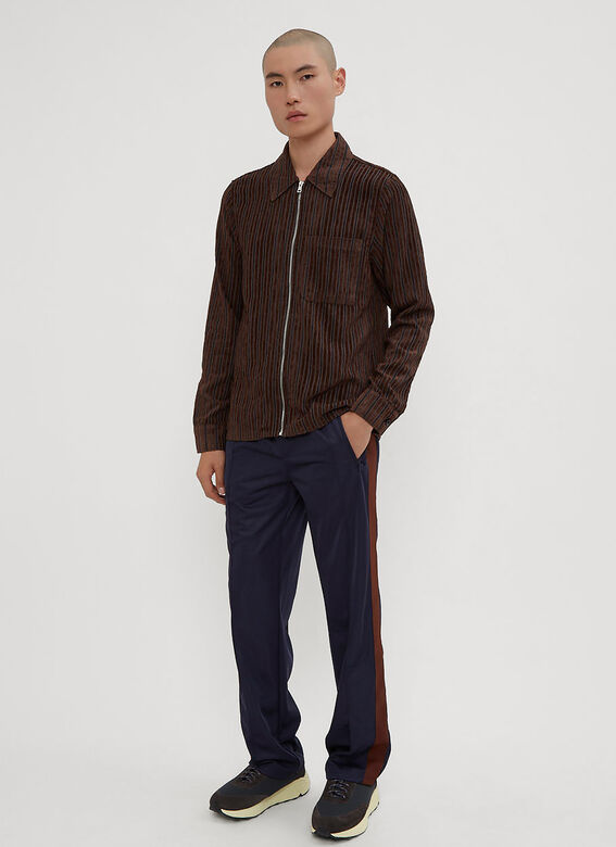Our Legacy  Corduroy Zip-Up Shirt