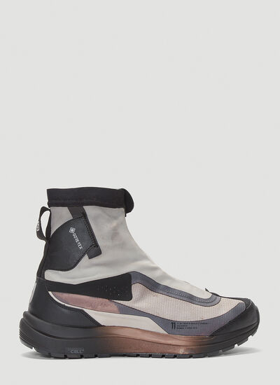 11 by Boris Bidjan Saberi X Salomon Bamba2 High-Top Sneakers