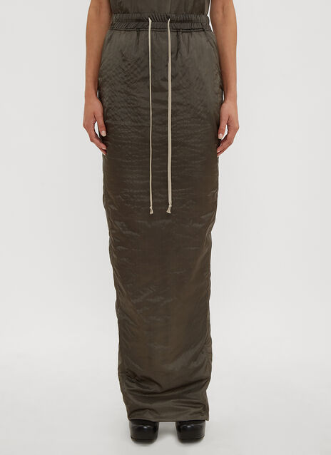 Rick Owens Pull On Pillar Skirt