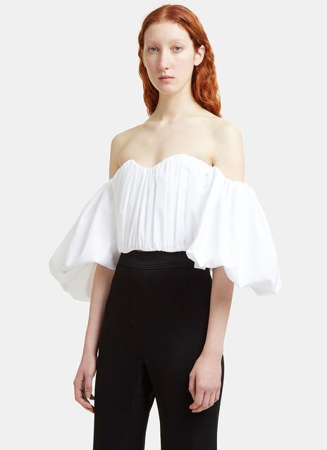 Bachelorette Rouched Corset Top