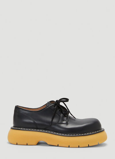 Bottega Veneta Bounce Lace-Up Shoes