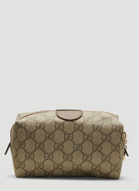 ee3747ea240 Gucci Ophidia GG Cosmetic Case in Brown   LN-CC