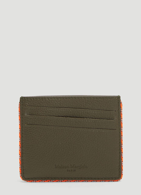 Maison Margiela Piped Leather Cardholder