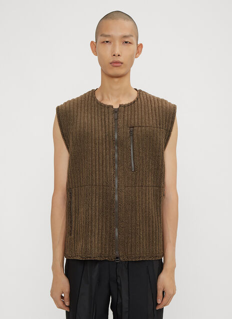 Homme Plissé Issey Miyake Ribbed Vest