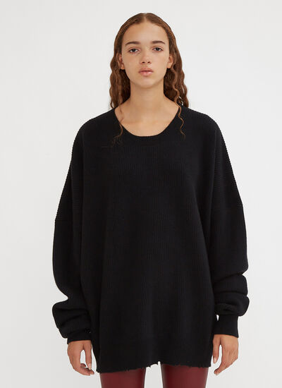 Unravel Project Oversized Rib Knit Sweater