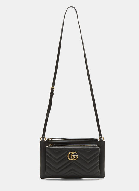 Gucci GG Marmont Shoulder Bag with Pouch
