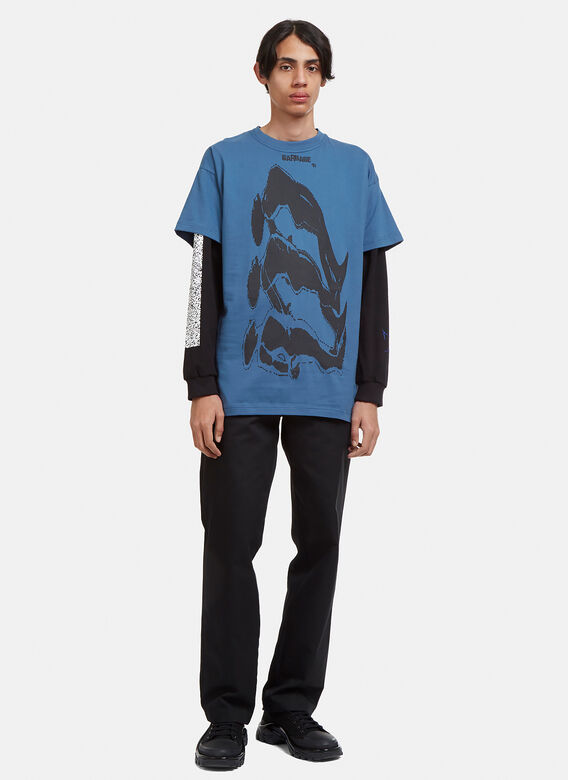 Garbage TV Astral Release Graphic Printed T-shirt