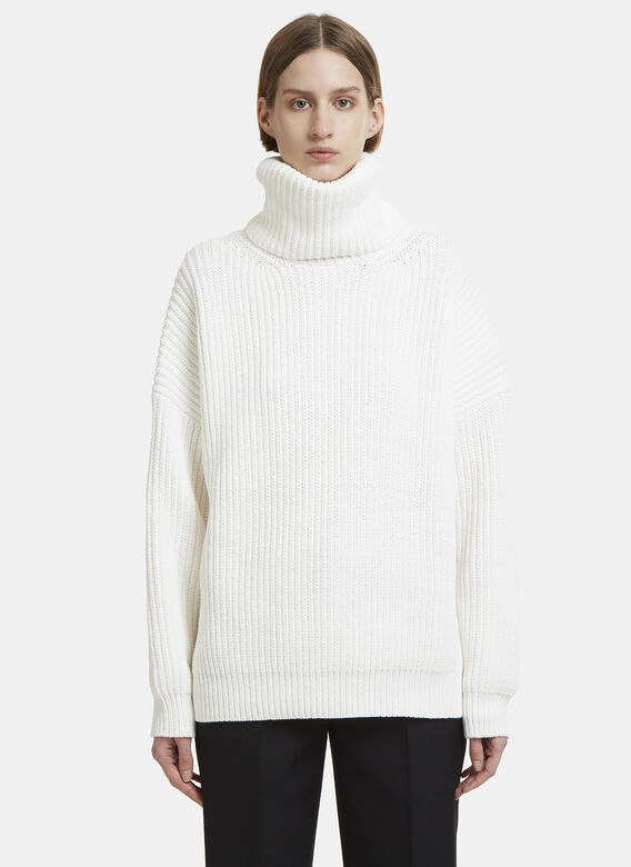 Acne Studios Piphy Chunky Knit Roll Neck Sweater