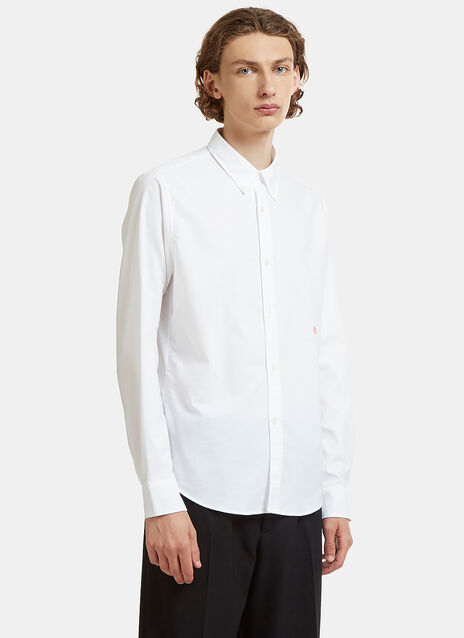 Ohio Face Embroidered Oxford Shirt