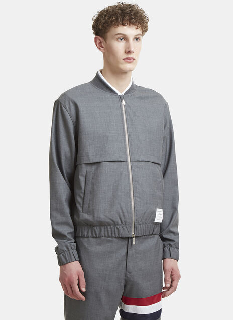 Thom Browne Double Layer Bomber Jacket
