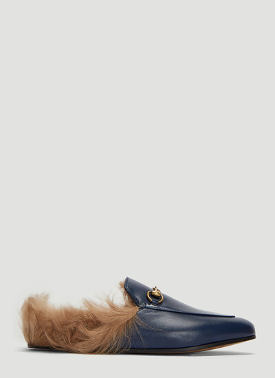 Gucci Princetown Horsebit Loafers