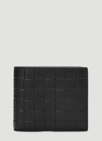 Bottega Veneta Embossed Leather Bi-Fold Wallet