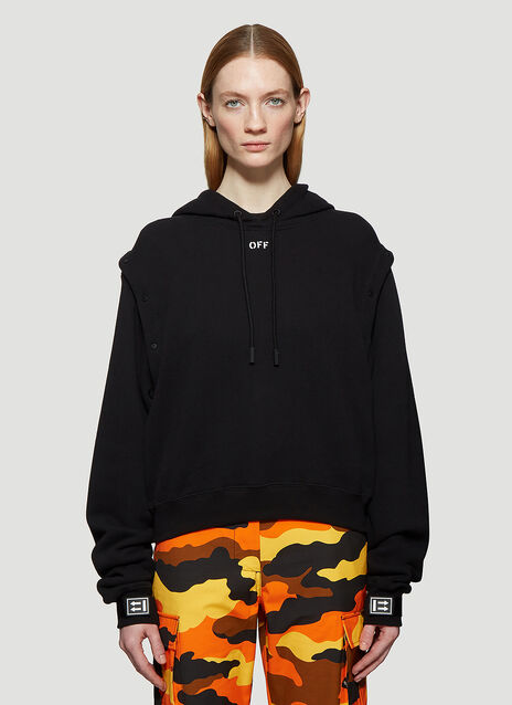 d0c02faed25a Off-White Hooded Sleeves-Off Sweatshirt
